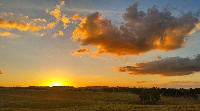 Loving the orange in tonight's sunset! Portland, NSW 05/04/2016🌄 Amazing_australia Sky_brilliance Skyddiction Splendid_outskirts Sky_central Sky_captures Exclusive_sky Trb_sunsetsfx Loves_australia Skysnappers Tv_clouds Myskynow