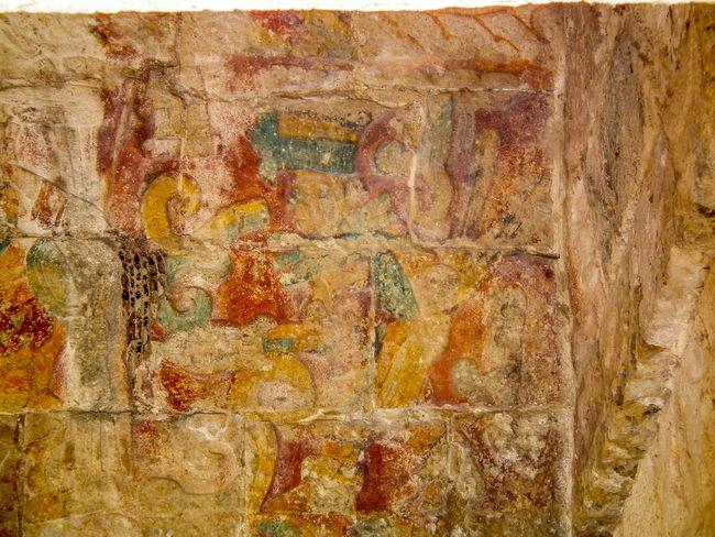 Archaeological Sites Chichen Itza Close-up Glyph History Mayan Mayan Ruins Mayan Wonders Mural Old Quetzal Weathered Yucatan Mexico Yucatan Peninsula Yúcatan