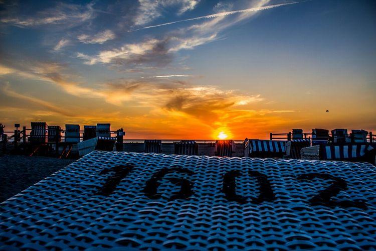 Beach Sunset St. Peter-Ording