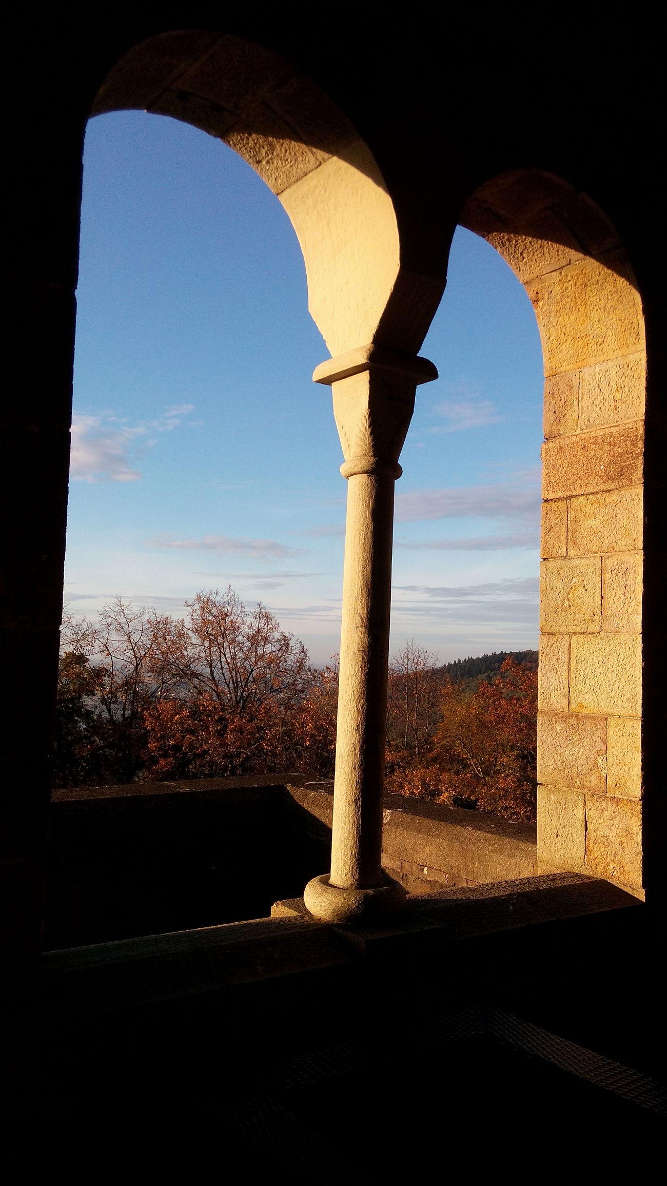 Autumn🍁🍁🍁 Autumn Autumn Colors History Castle Architecture Mountain Weinheim Landscape Nature