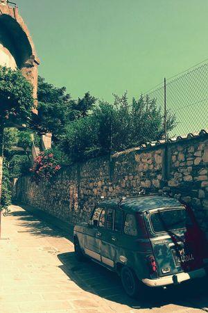 Vintage Cars Auto Umbria Estate 2015 Castiglione Del Lago Vicoli Stradine