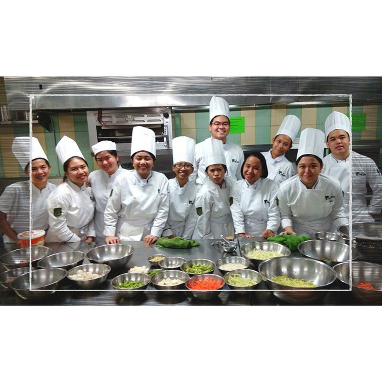 09.16.14 Mise-en-place || The next batch of culinary artists! ⚡ . . . Primlab Gastronomy KitchenBoss Benilde themanansala