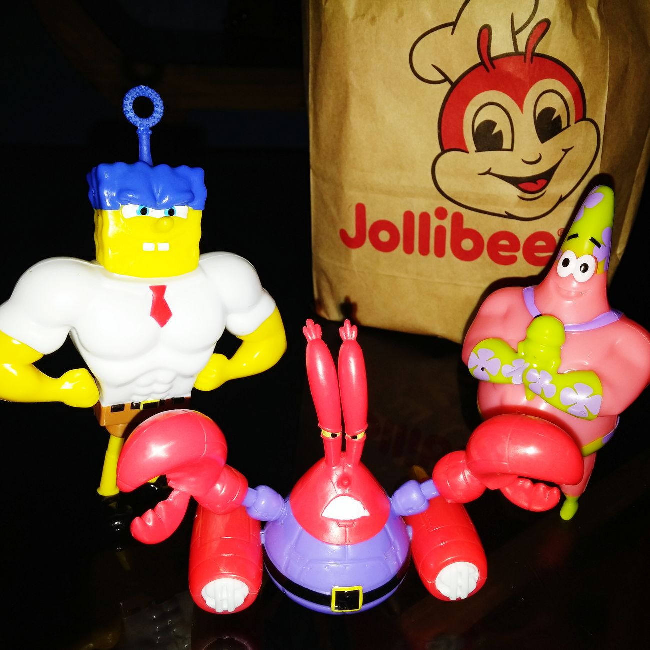 Happy xin or happy me?wahahaha.. Spongebob♥ Spongebob Squarepants Spongebob Collection