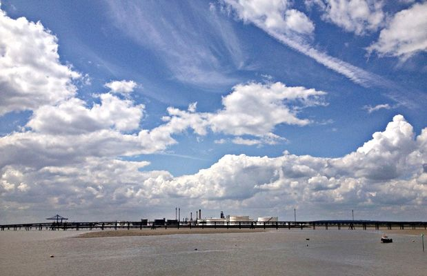 enjoying life at Canvey Island,  Essex by CRAZY LAINIE