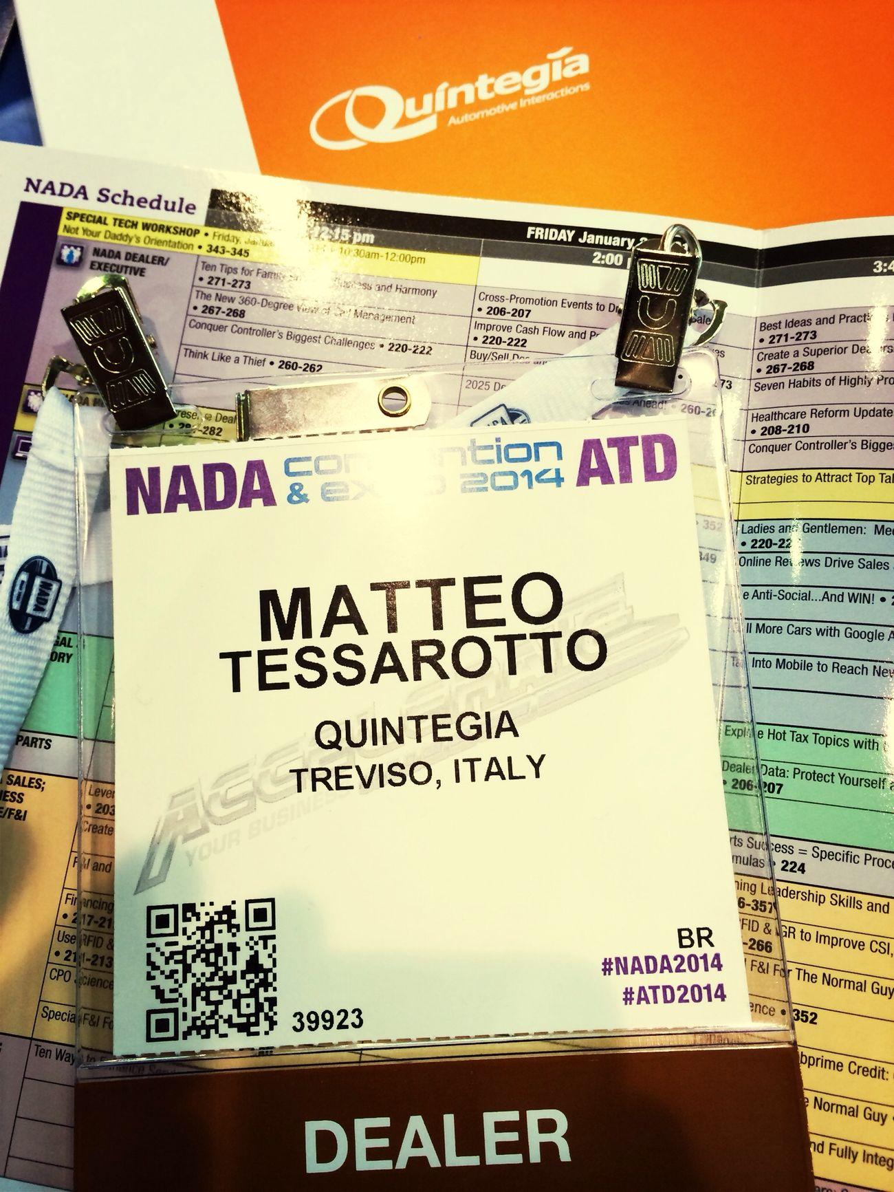 Secondo giorno, pronti.. via!! Nada2014 Add14 Readytogo Quintegia