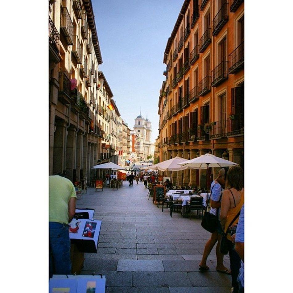 Calletoledo Calle Toledo near Plaza mayor plazamayor plaza_mayor. Madrid Spain españa. Taken by my sonyalpha dslr a200. Taken in my 2010 trip حي مدريد اسبانيا