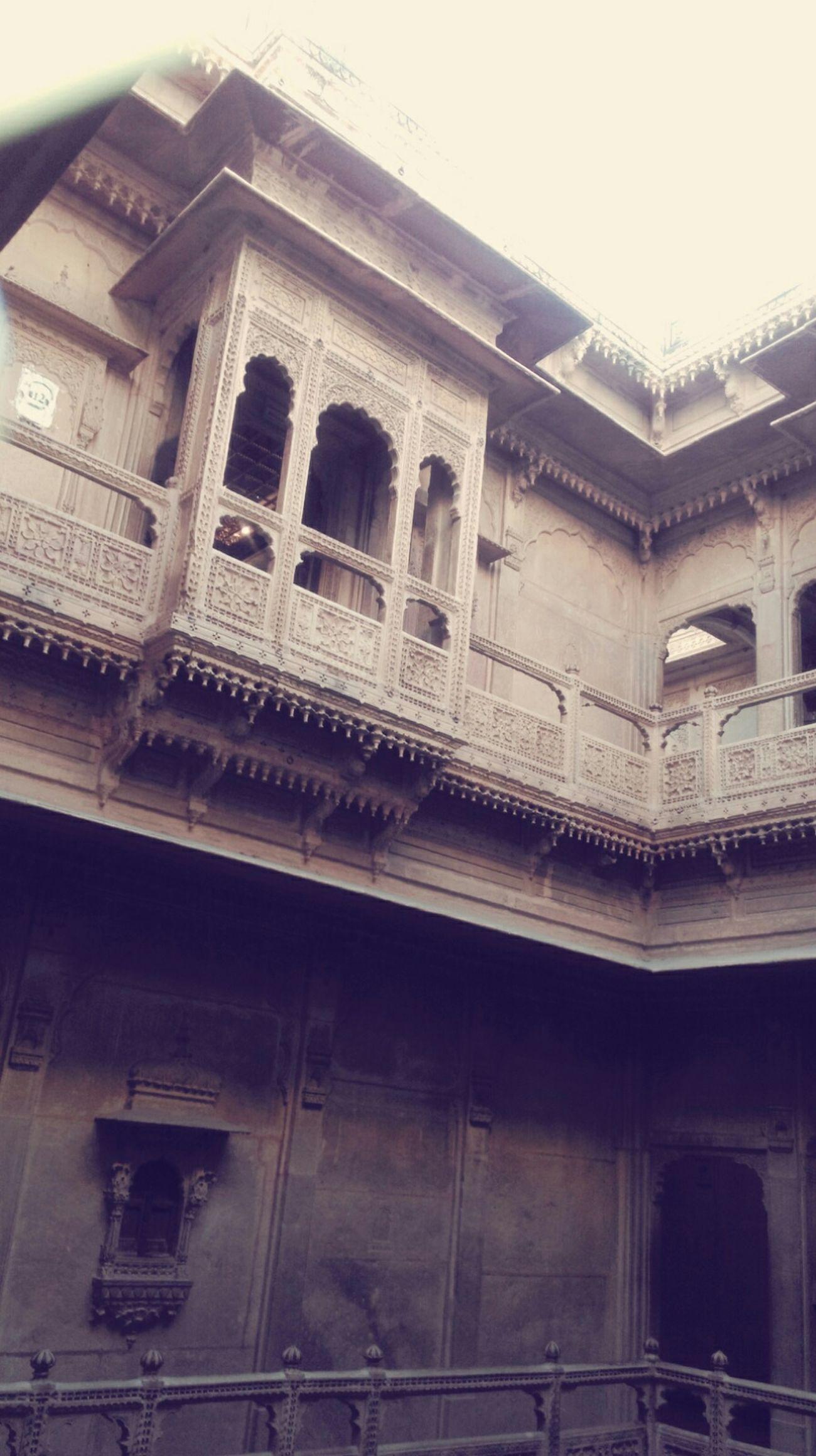 Awsome Arcitecture Jaisalmer Rajasthan