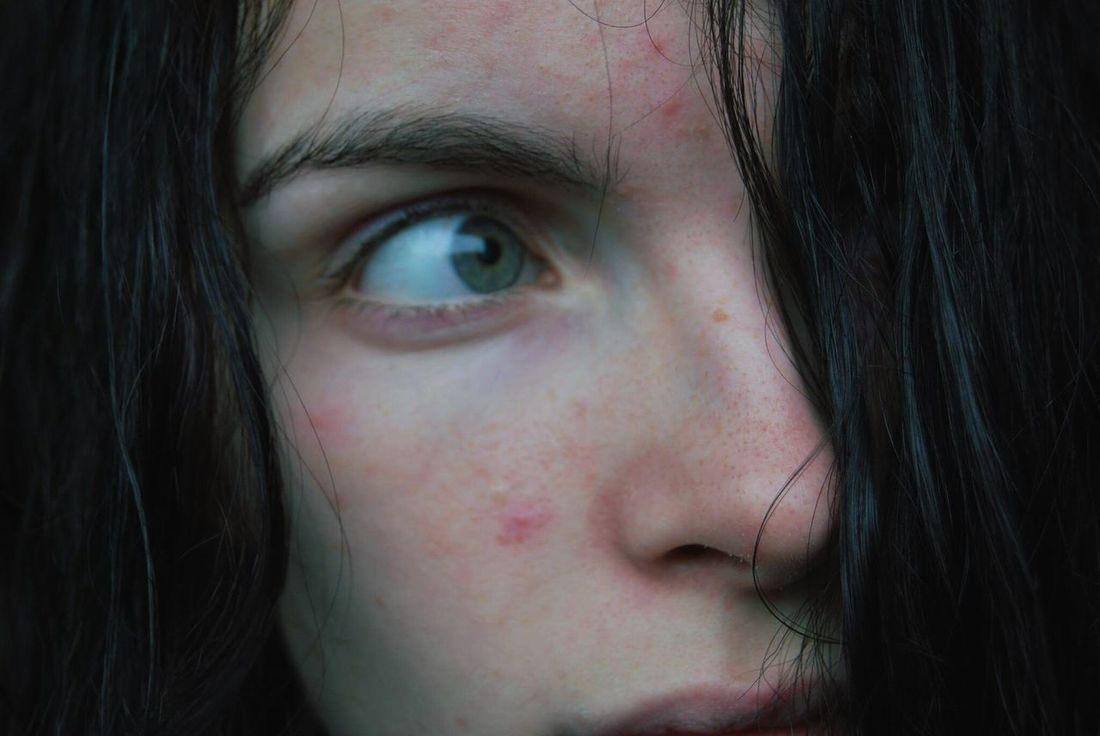 Human Body Part Close-up Human Face Portrait Human Eye Teenager Eye Beauty People One Person One Teenage Girl Only Freckle Eyebrow Eyesight Young Adult Adult Outdoors Day Me
