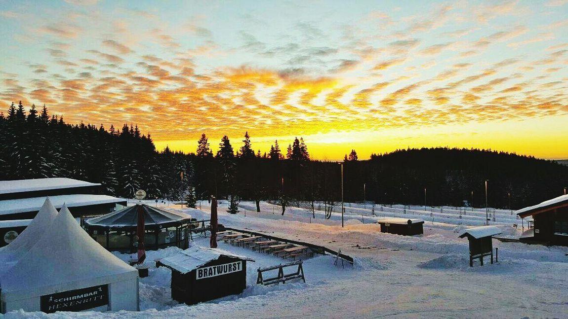 Germany🇩🇪 Harz Bilder Winter Braunlage Harz Im Winter Harzmountains Snow Sunlight Frozen Cloud - Sky Snowing