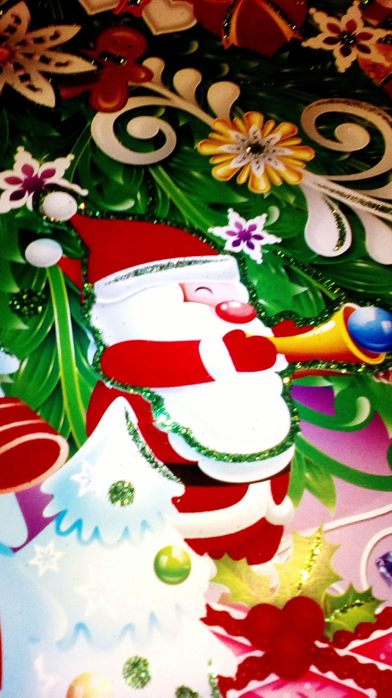Capture Berlin Santa Claus Santaclaus Cristmas рождество санта сантаклаус Art And Craft Red Abstract Green Color Art Product Composition Watercolor Painting No People