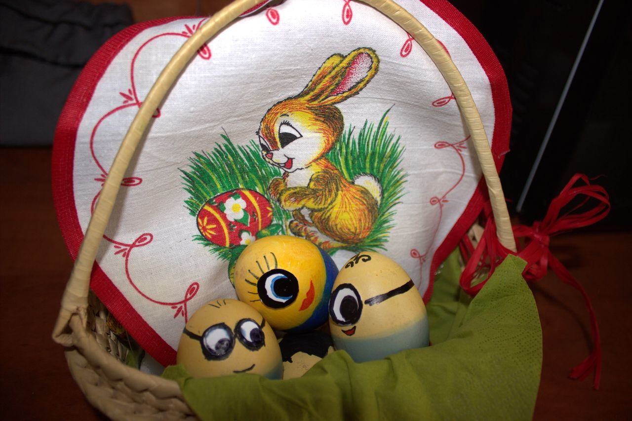 Minions Easter Bunny Easter Eggs Eggs Eier Frohe Ostern! Kindheit Minions Ostern 2017 Visual Feast