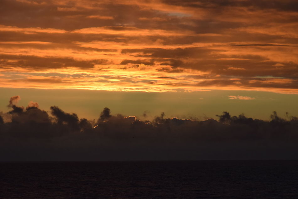 Wundervoller Sonnenuntergang an der Nordsee Beauty In Nature Cloud - Sky Danmark Denmark Horizon Over Water Hvide Sande Idyllic Nature No People Nordsee Outdoors Scenics Sea Silhouette Sky Sundown Sunset Tranquil Scene Tranquility Water