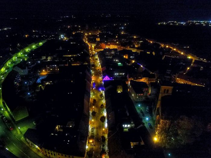 Lichterzauber Night City Skypixel Dji Nightphotography Outdoors