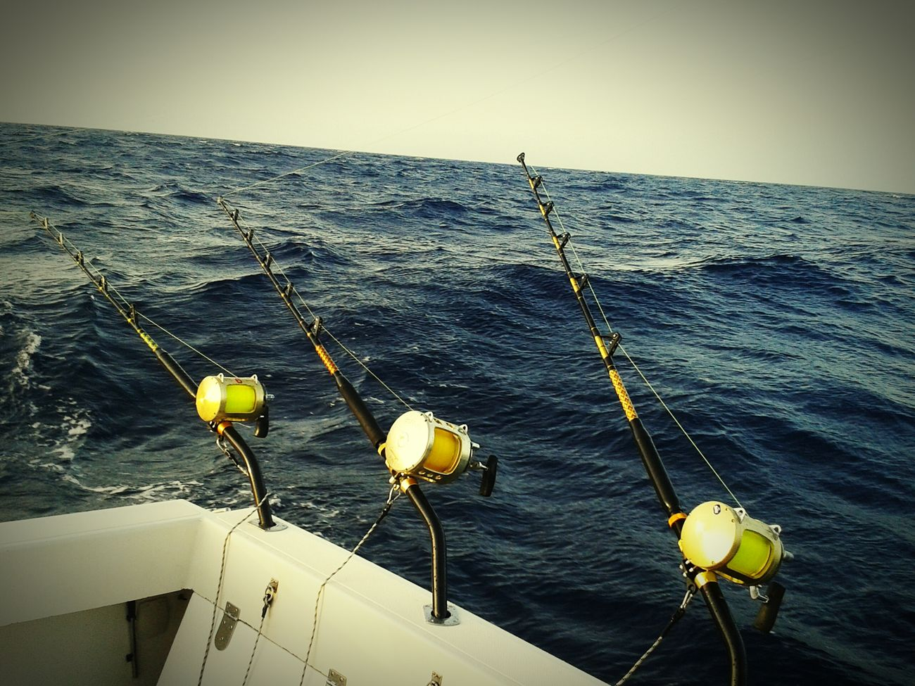 Sea Fishing of the shore of Caleta De Fuste for Marlin Yellowfin Tuna and Wahoo Wahoo
