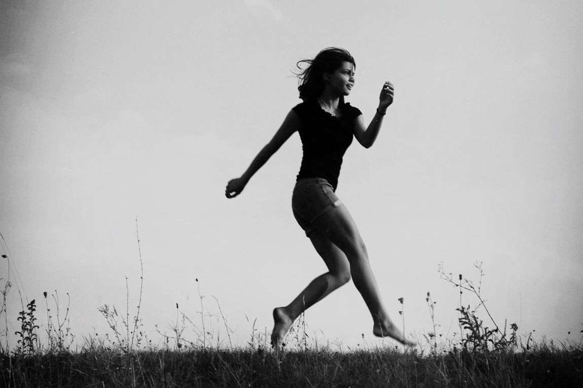 People And Places Getting Inspired Getting In Shape Blackandwhite Girlpower Highway Capturing Freedom Who Run Tha World!!