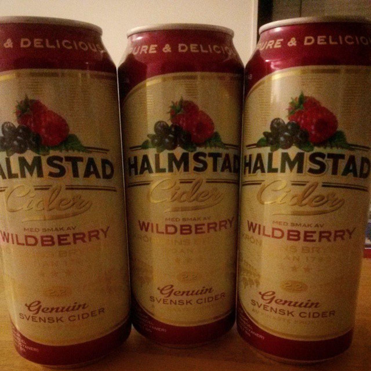 Cider Halmstad Wildberry Svensk