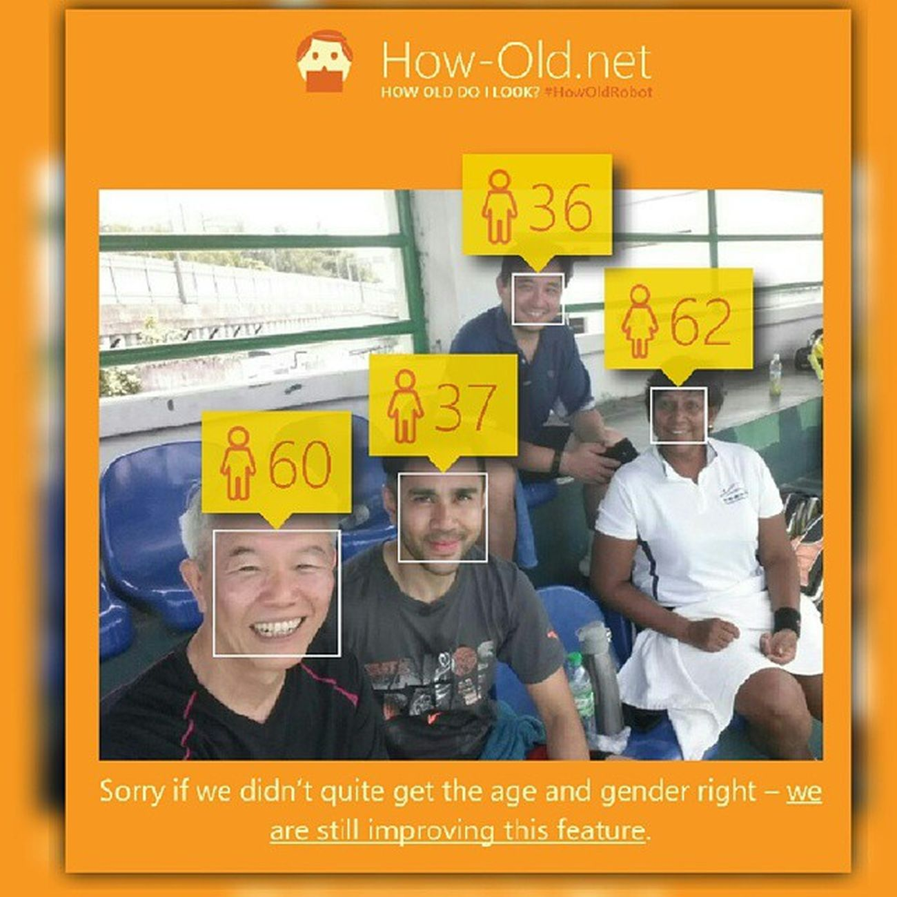 HowOldRobot is slightly off with the age Funny Dontangryah Justforfun