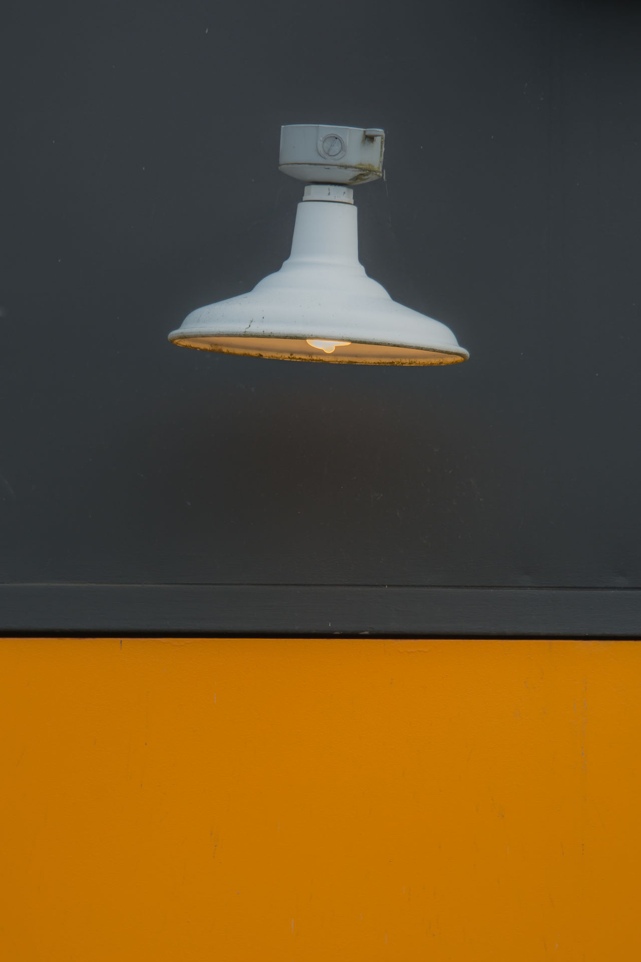 Close-up Contrast Day Indoors  Lamp No People Simplicity Yellow