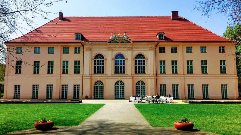 Schönhausen Palace Schloss Schlosspark Schloss Schönhausen Castle Park Palace East Berlin Pankow Berlin