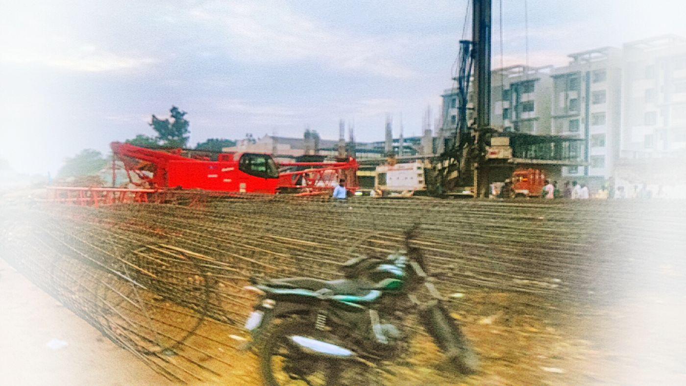 Vijayawada Capital Cities  Under Construction... Work In Progress