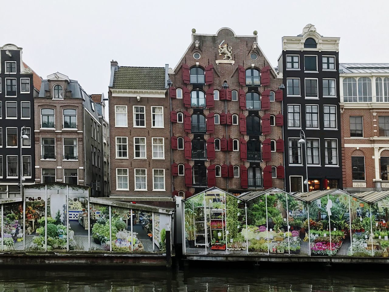 Architecture Window City Outdoors Residential Building Row House Amsterdam Flower Market