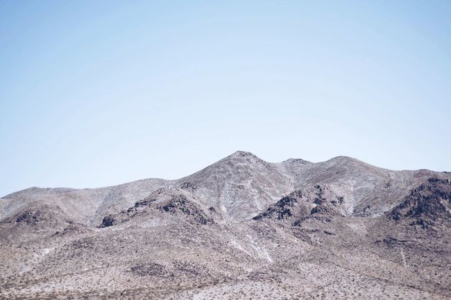 Under the same sky Tranquility Nature Clear Sky Mountain Beauty In Nature Tranquil Scene Outdoors Landscape No People Sky Blue Minimalism Minimal Pastel Pastel Power Wanderlust Desert First Eyeem Photo