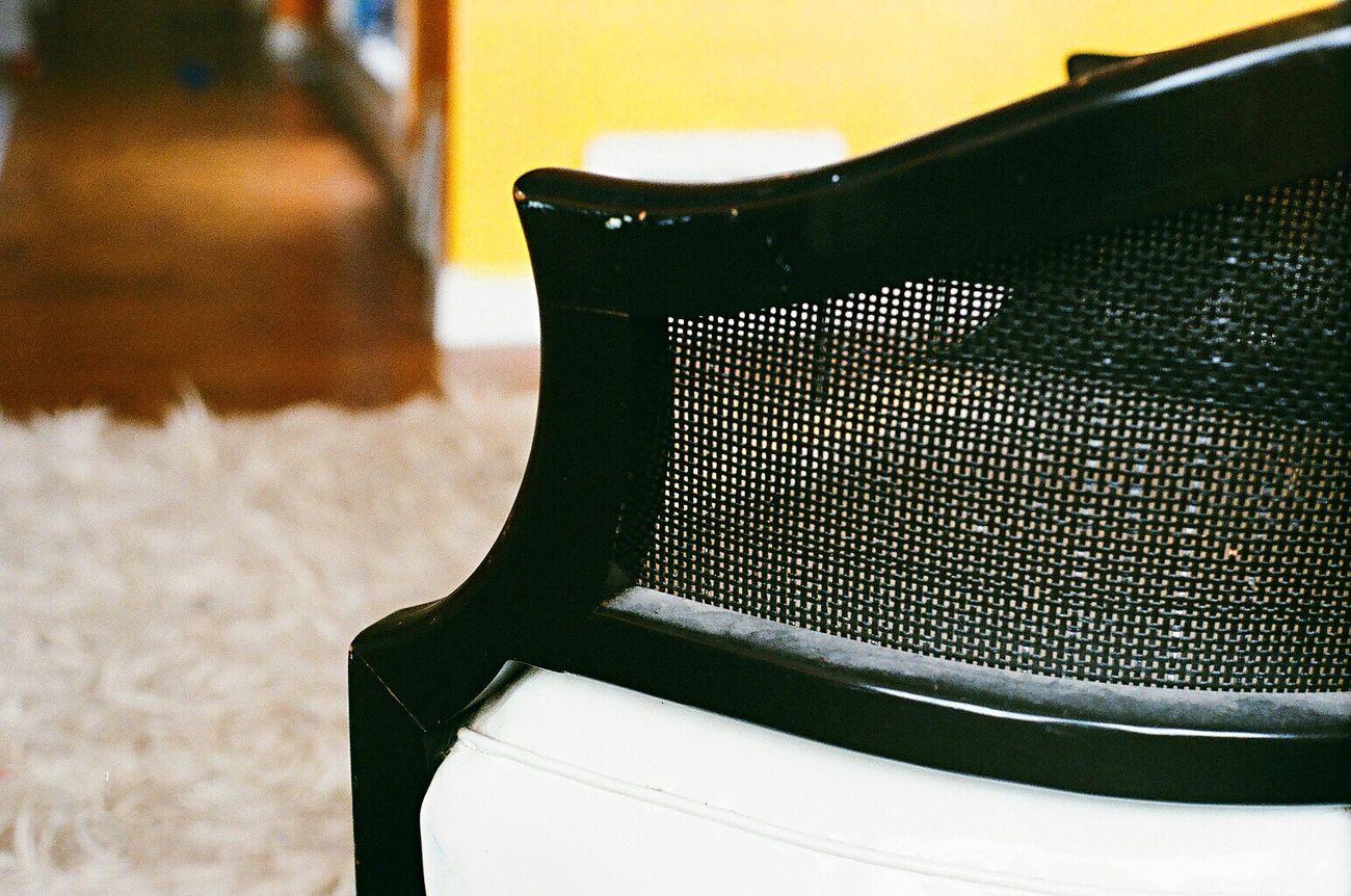 Koduckgirl Indoors  Zenit122 Lomo400 Film Chair