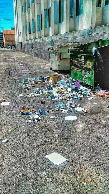 Dumping Rubbish