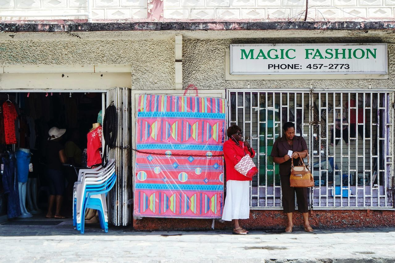 Magic fashion Full Length Outdoors Building Exterior Two People Multi Colored Day Store Adults Only Architecture People Young Adult City Adult Only Men Graffiti Art Travel Destinations EyeEm Best Shots Fresh 3 Eye4photography  Open Edit Streetphotography Streetphoto_color City Street Adults Only Real People