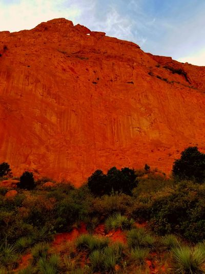 Garden of the Gods has beautiful colors! Red Rocks  Garden Of The Gods Red Nature Landscape Multi Colored