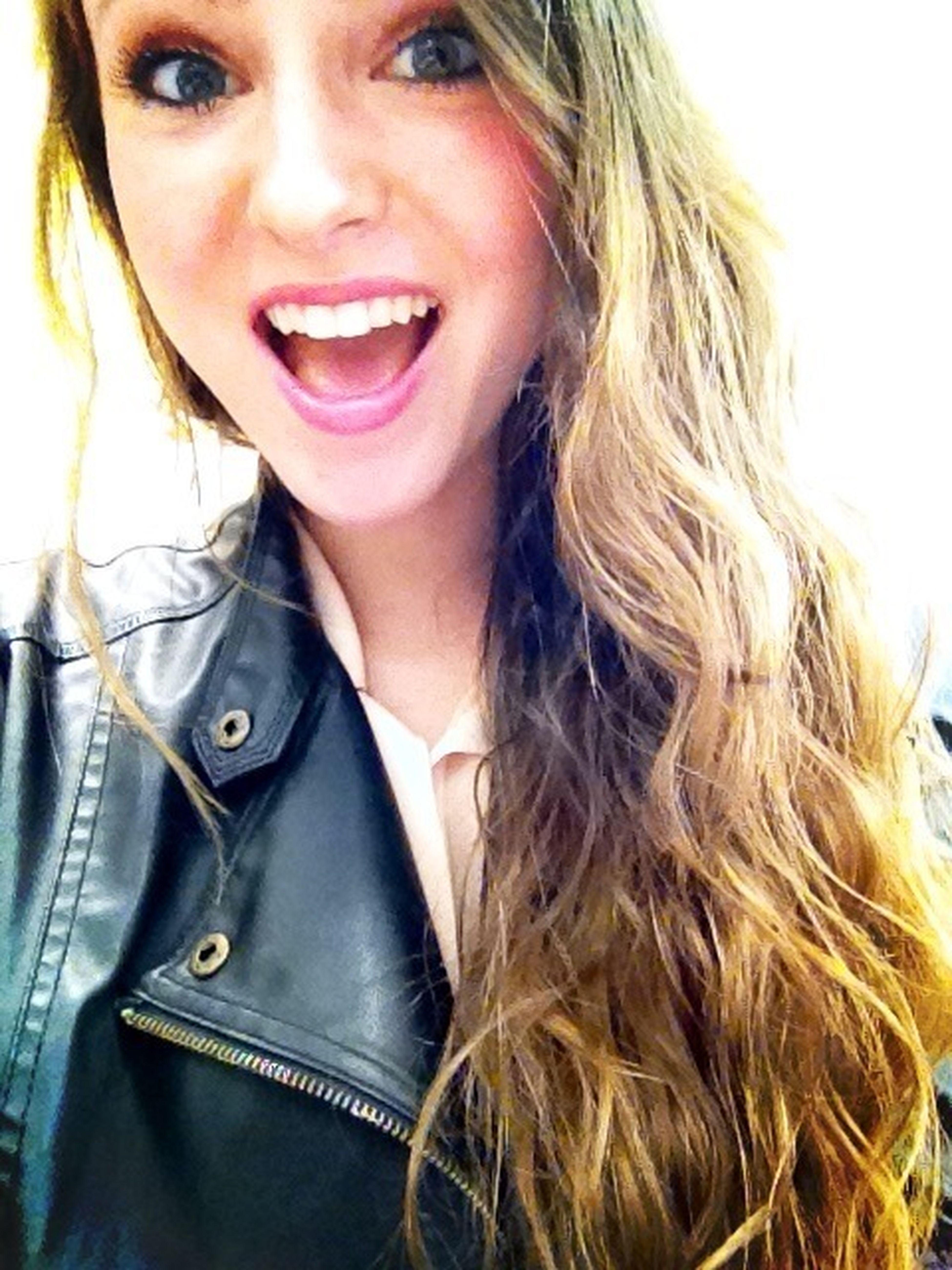 Leather Jacket Fridays Hay