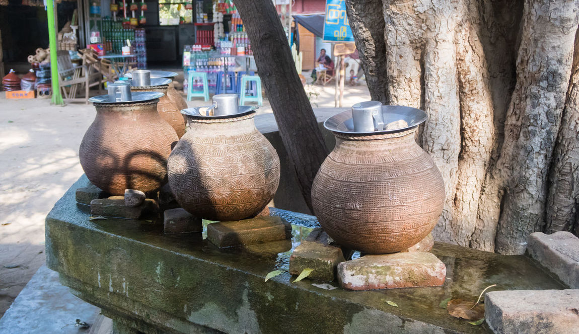 Myanmar Close-up Day Earthenware No People Outdoors