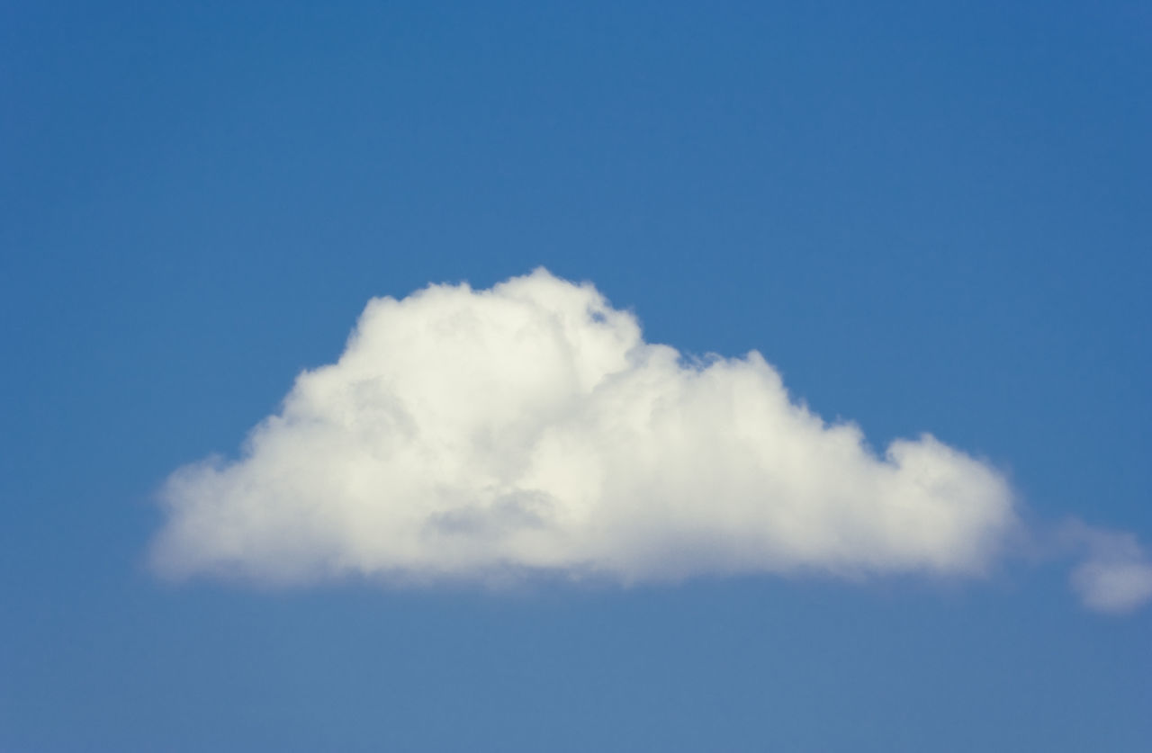 white cloud on a blue sky Background Backgrounds Beauty In Nature Blue Blue And White Cloud Cloud - Sky Clouds And Sky Cloudscape Cloudscape Cumulus Cloud Fluffy Heaven Meteorology Mid-air Nature Scenics Single Object Sky Sky Only Summer Tranquility Weather White White Clouds And Blue Sky