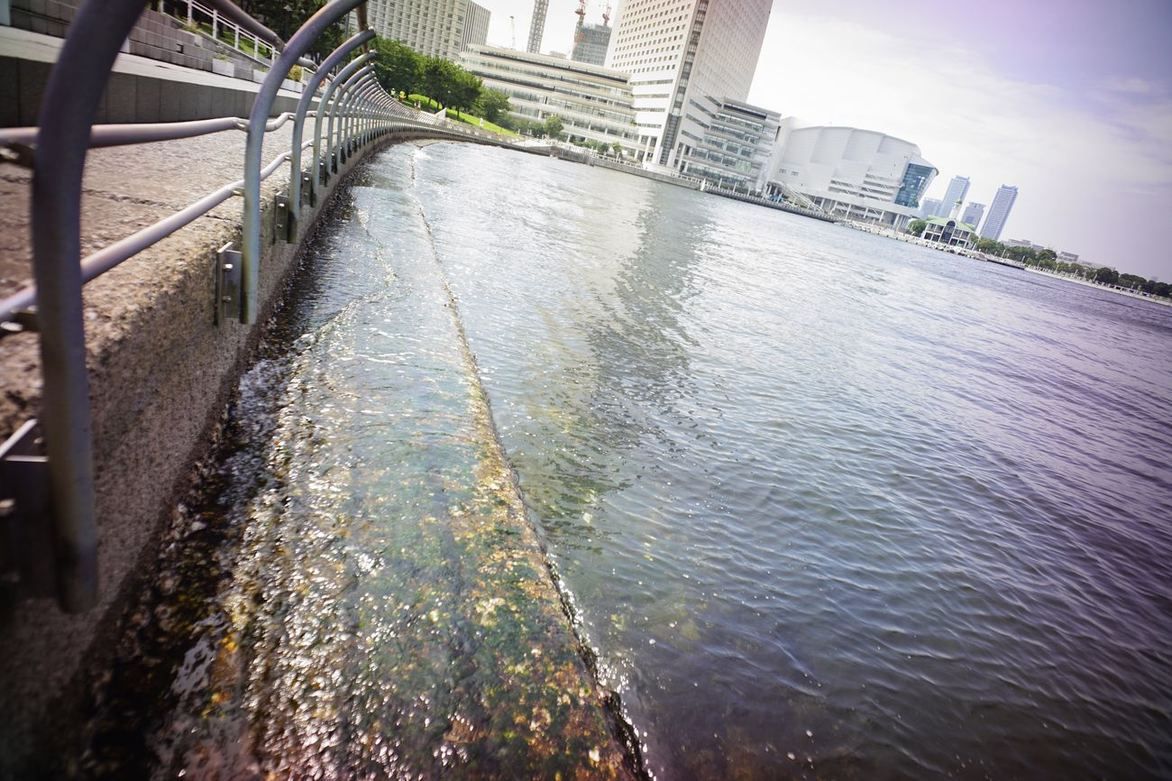 Seaside Seascape Water_collection Sea And City City Life Water Reflections Super Wide Angle 広角機動隊 The Purist (no Edit, No Filter) EyeEm Best Shots - Landscape EyeEm Best Shots Snapshot Taking Photos Walking Around お写ん歩
