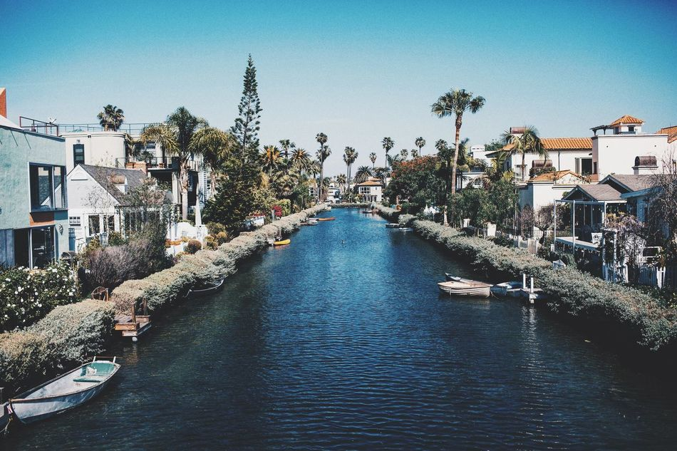 Beautiful stock photos of los angeles, Architecture, Building Exterior, Built Structure, Canal