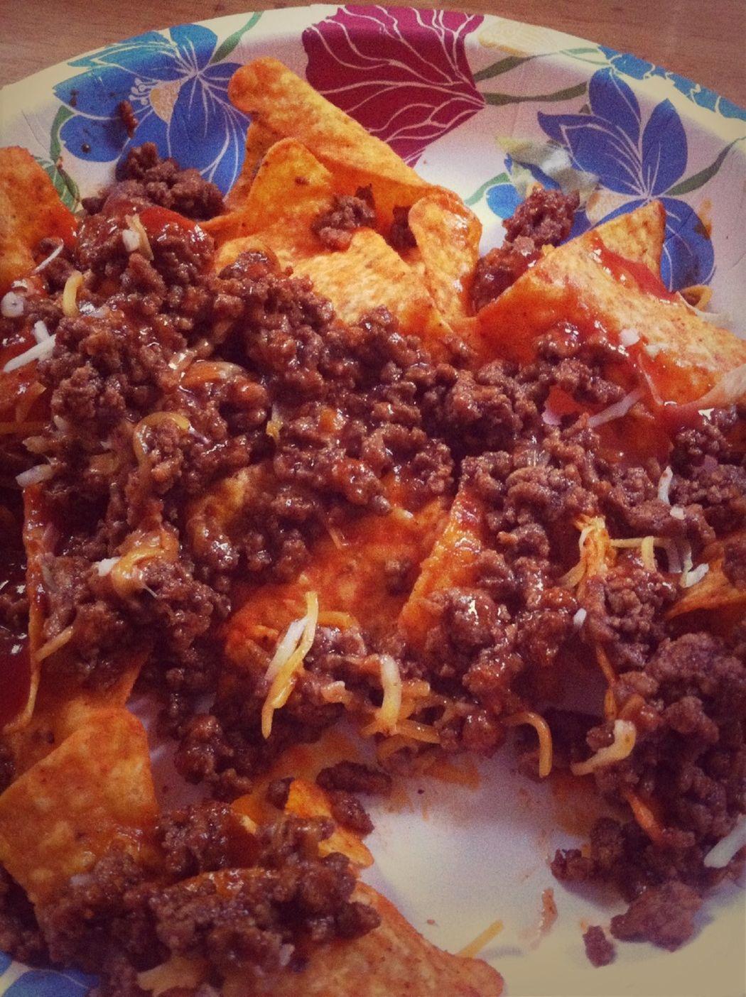 My plain taco salad since I'm picky