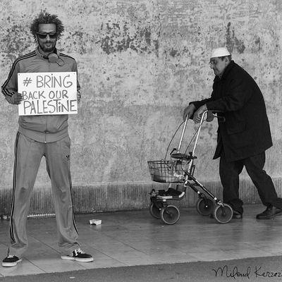 Liberté et Sécurité pour le peuple de Palestine. BRAV' BRINGBACKOURPALESTINE - Nakba Photographie - Miloud Kerzazi - @Sous-France