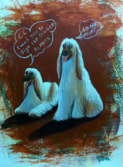 "Afghan Hound, oil on canvas 14""_20"" , Pets Our Best Friends Close-up Animal Themes Beauty Precious Animals Original Art My Portrait Collection Fine Art My Art Collection Oil Painting Art Model Art, Drawing, Creativity ArtWork Drawing Beauty In Art Fredom Friendship. ♡   Love♥ Koi with My Best Friends ❤"