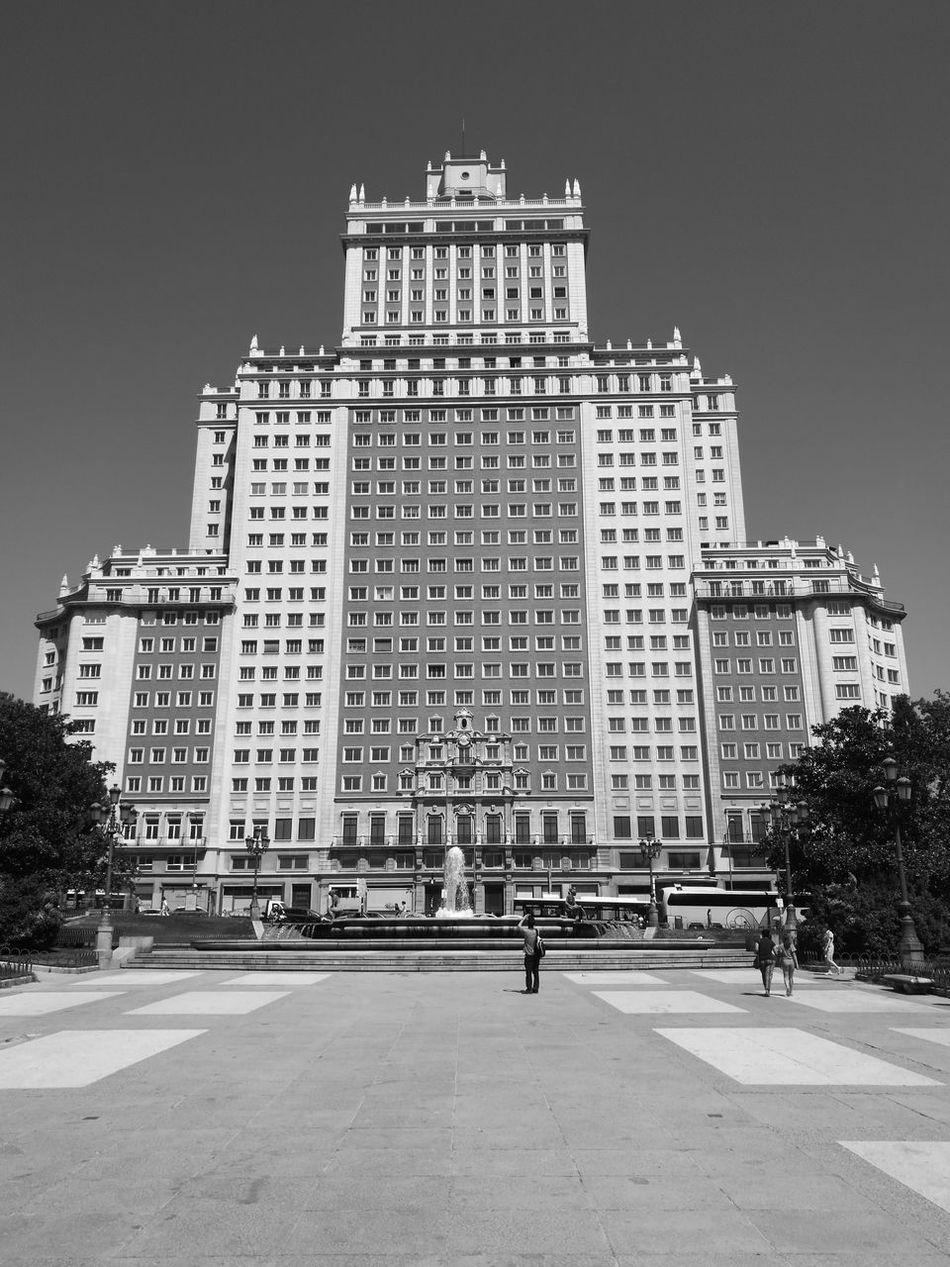 Edificio España Architecture Office Building Building Story First Eyeem Photo