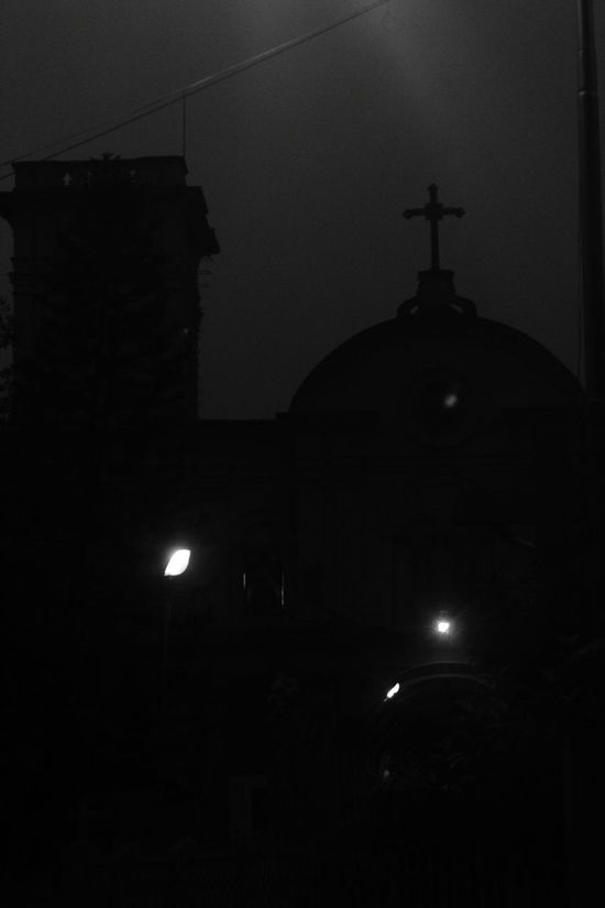 Chandernager Chandannagar Check This Out Blackandwhite Photography Night Bw Hello World Rivudephotography Blackandwhite Vintage Bwphotography Memories Pictureoftheday Streetphotography Streetphoto_bw Church Jesus Christ Faith Religious Architecture Religion