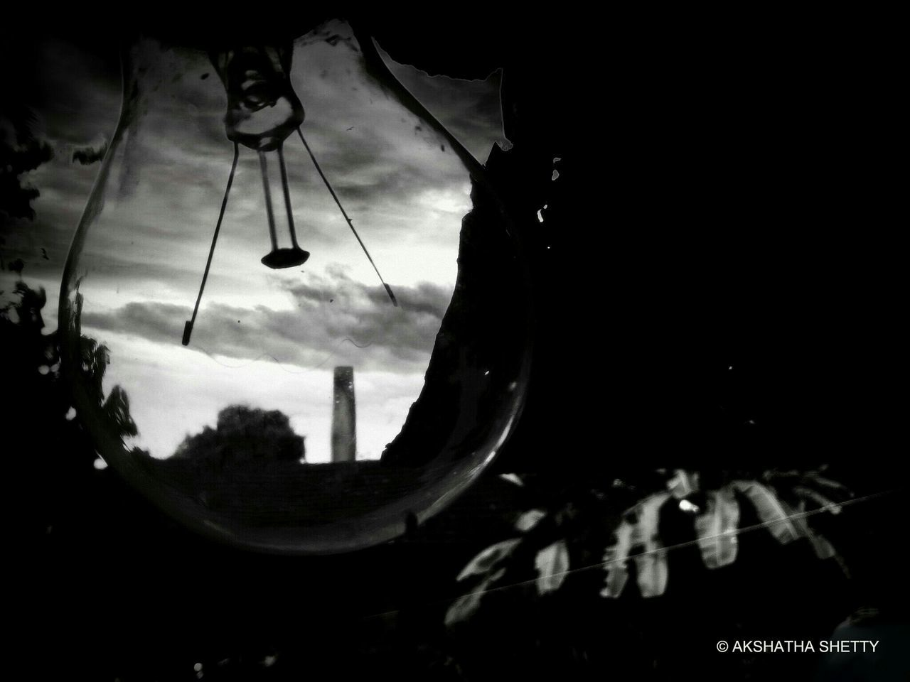 Monochromatic Bulby View.. Out of the traditional works and into the exploration in d void.. where the frame to that exploration and adventure never ends.. Blackandwhite Photography B&W Collection Abstract Mandarthi Karnataka India Freelance Life Rule Of Thirds Crystal Clear Southern India