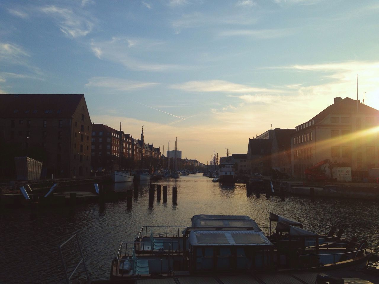 Beautiful stock photos of sunrise, Architecture, Boat, Building Exterior, Built Structure