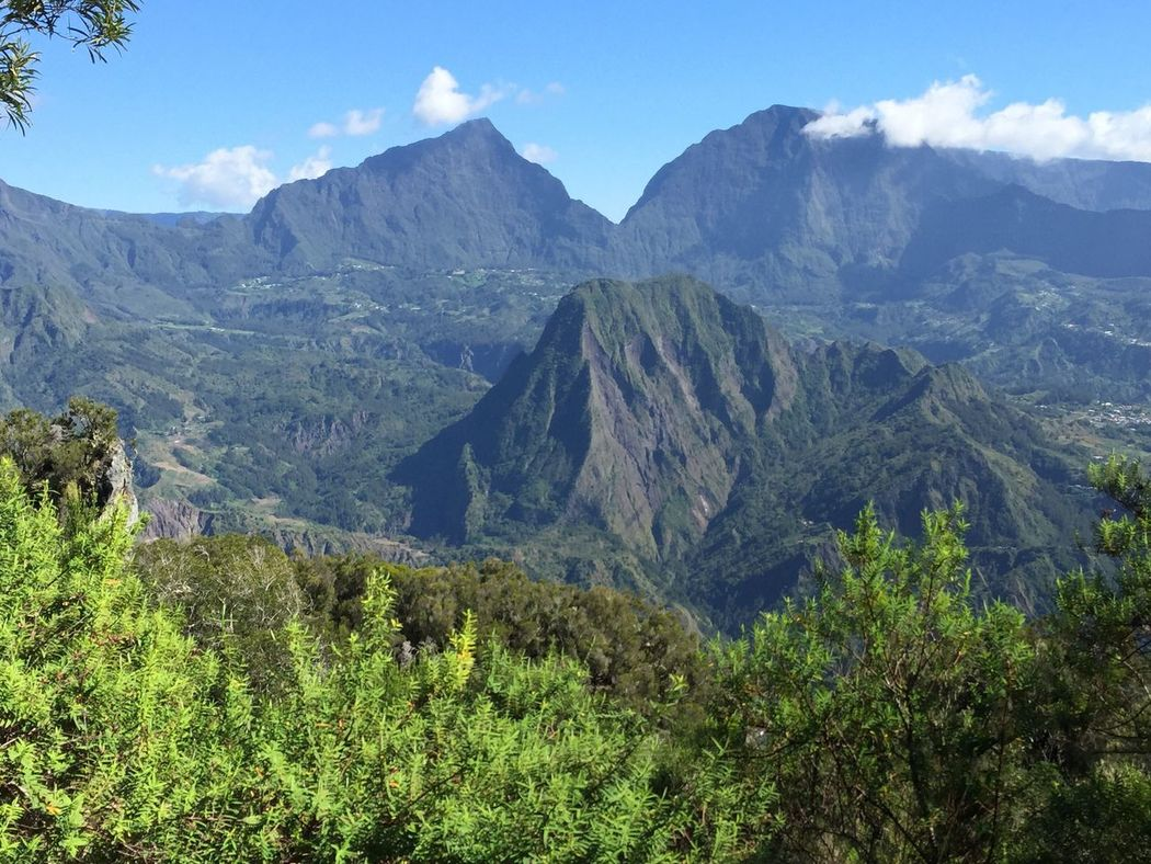 Landscapes With WhiteWall Reunion Island Salazie Mountains