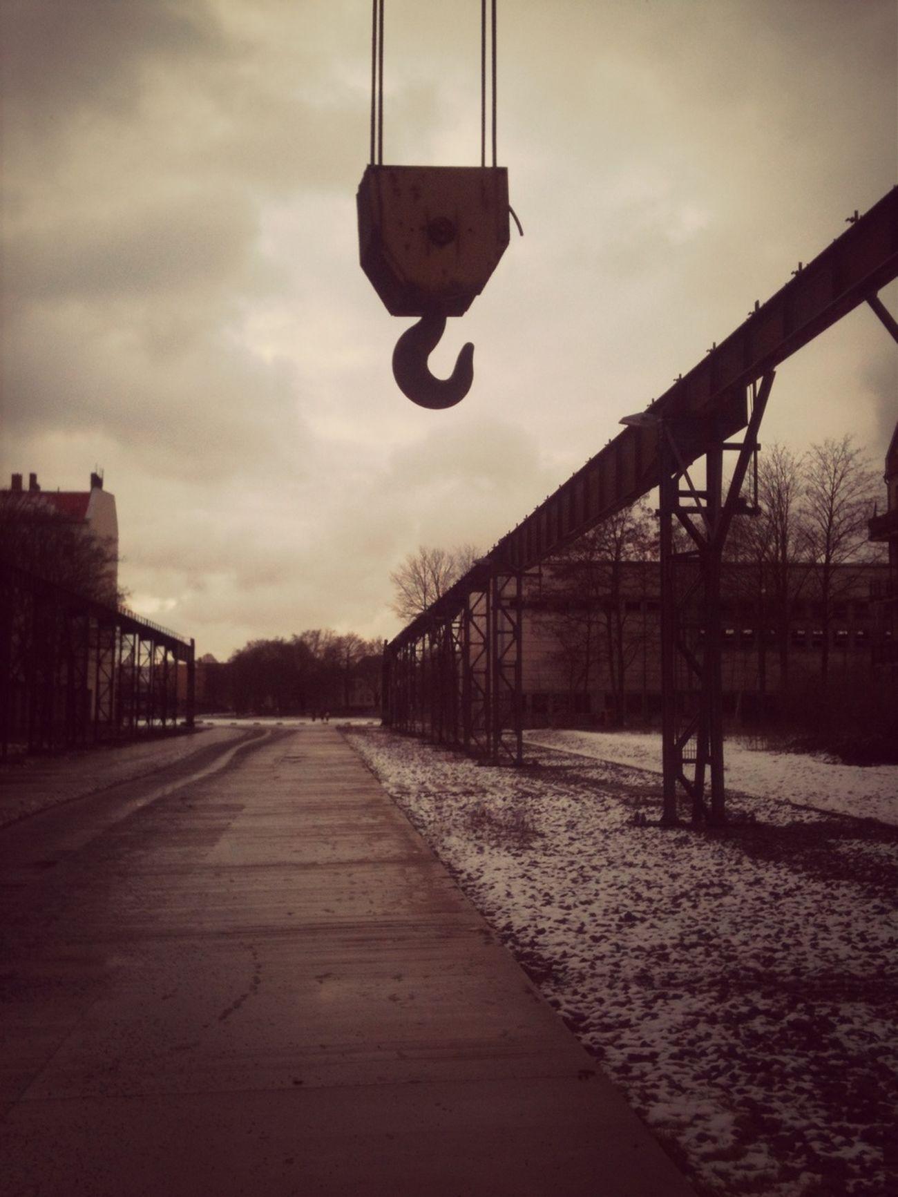 Kranbahn.