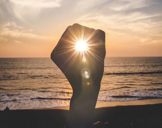 💥 Landscape Sunset IPhoneography VSCO Warm Sea Lens Flare Showcase March Thegreatoutdoors2015EyeemAwards