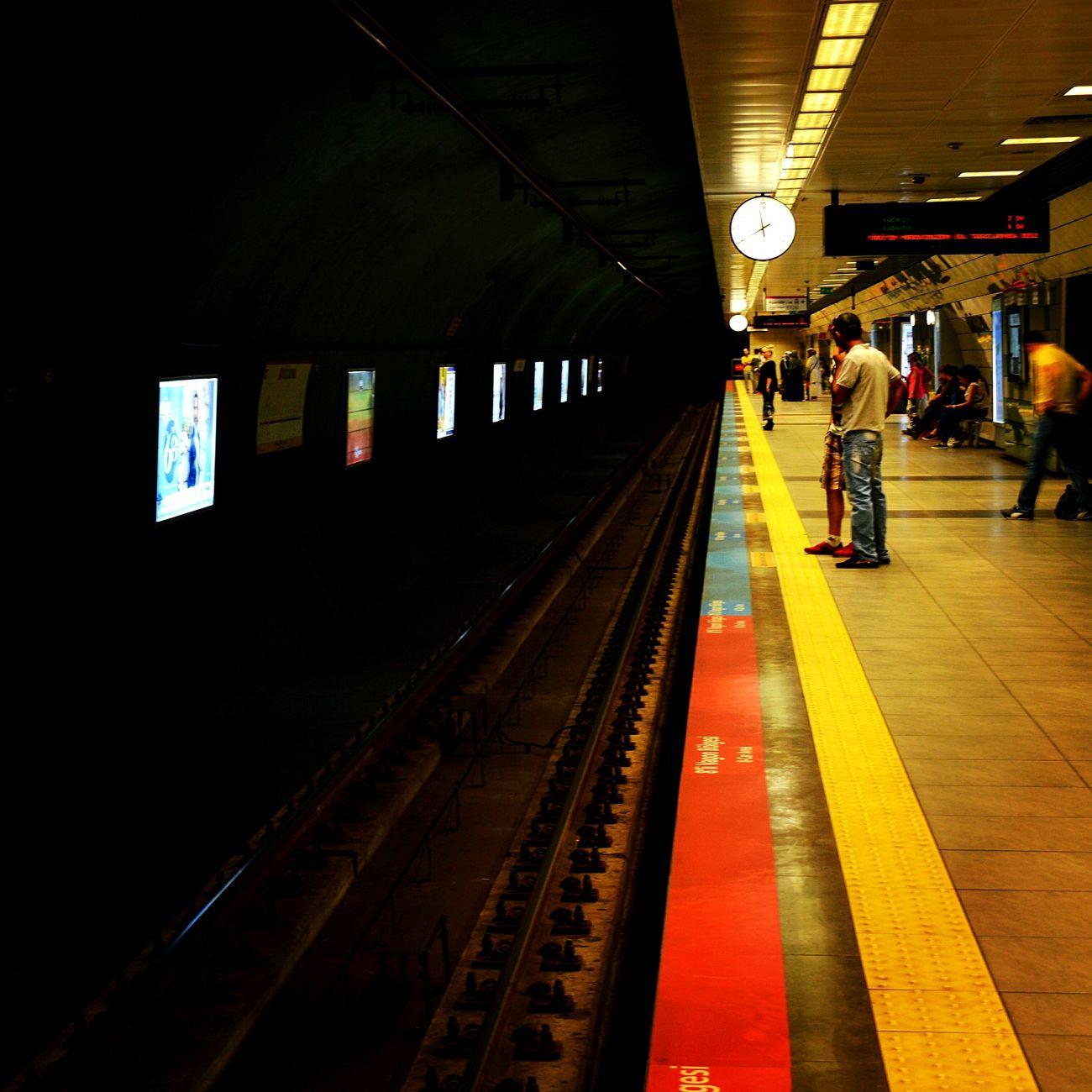 Metro Underground Istanbulmetro Istasyon Subway Station Underground Station  PhotoByMuratGul