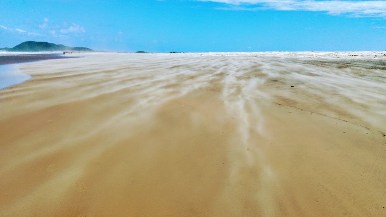 Windy beach Beach Sand Sea Water Nature Sky Summer Outdoors Blue Vacations Tide Tranquility Cloud - Sky No People Water's Edge Landscape Day Travel Destinations ScenicsSt. Lucia KZN