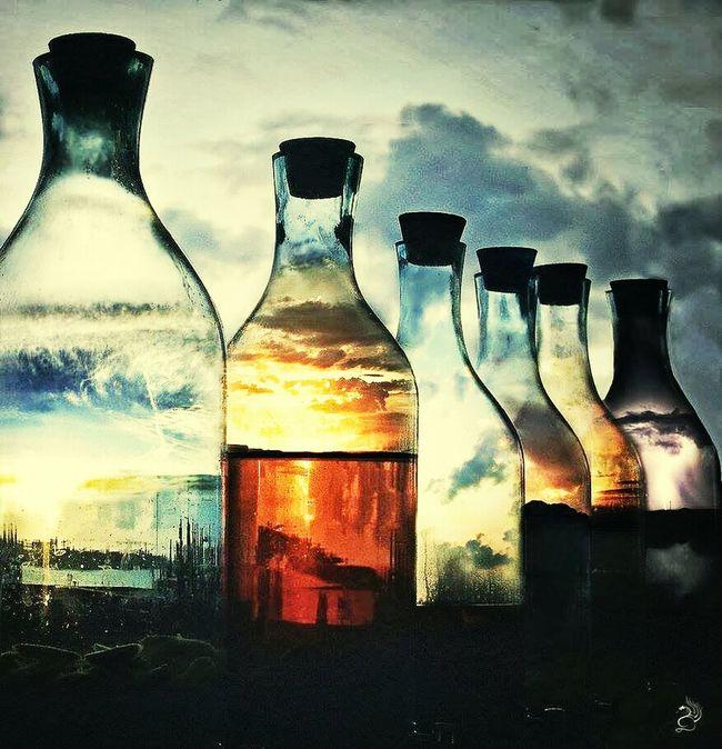 酒瓶里的天空