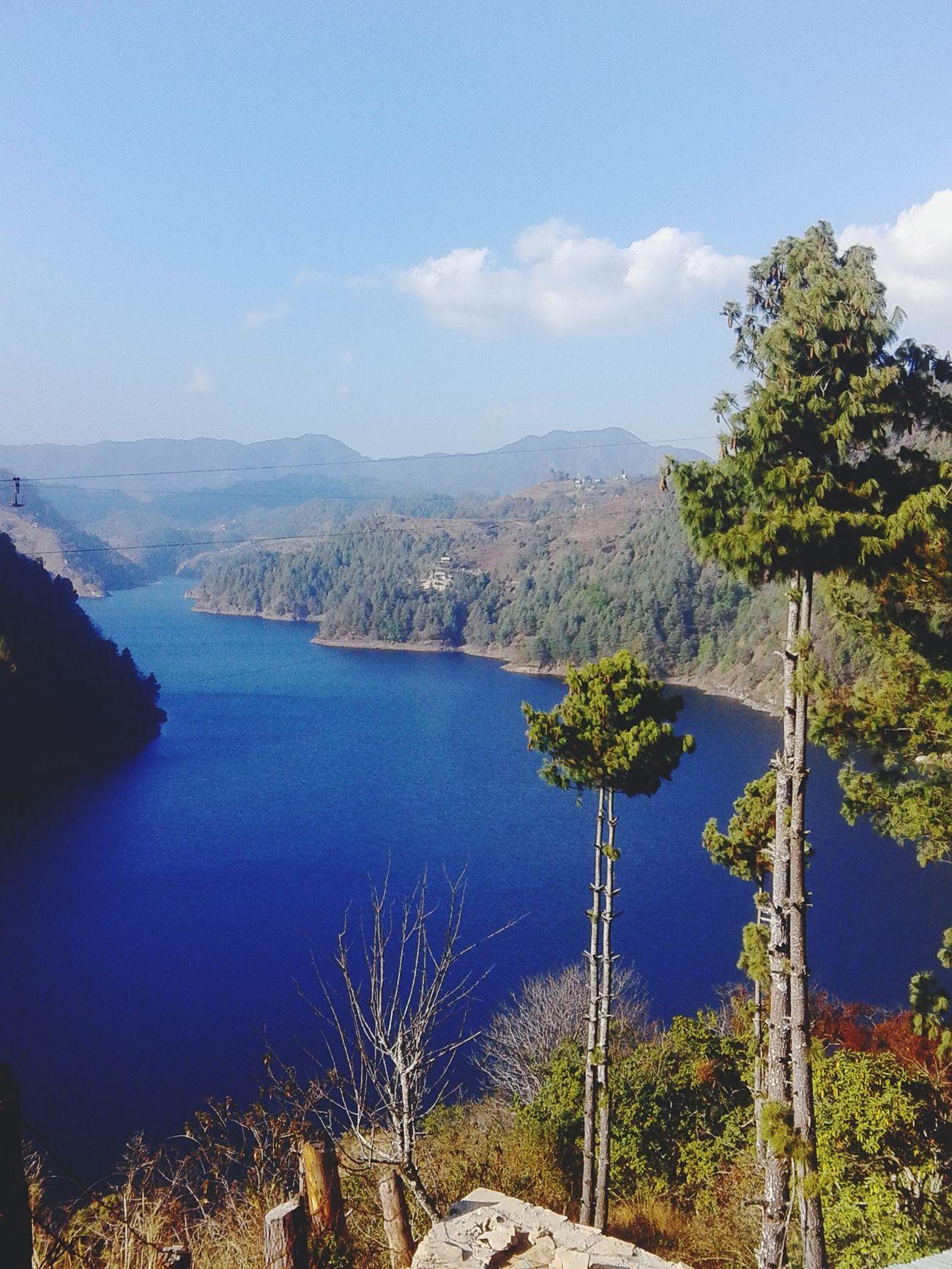 Mountains Lake View Nature Hydropower Mobilephotography Kulekhani Dam Nepal First Eyeem Photo