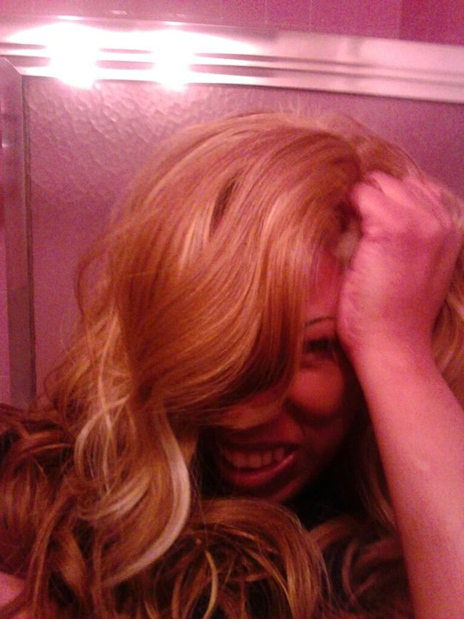 pull me hair love it